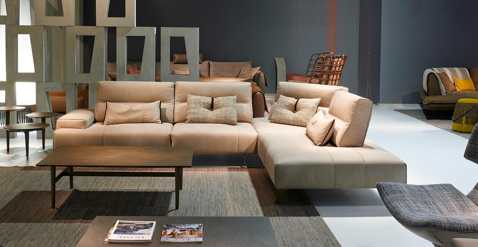 Leather Sofa Gamma Arredamenti