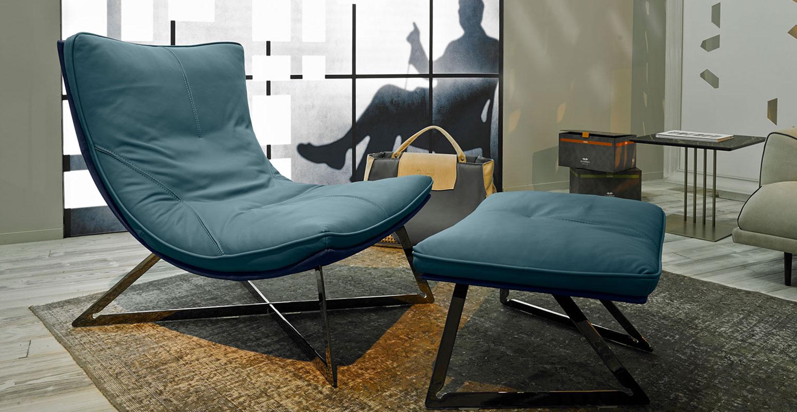 Poltrone Chaise Longue Design.Poltrona Scarlett Gamma Arredamenti